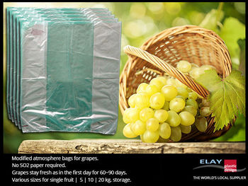 Modified atmosphere grapes bag