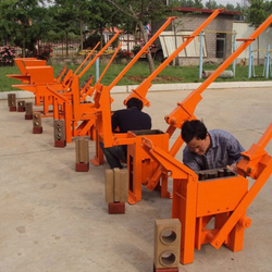 interlocking machine machine witl low cost,hand control brick making machinery