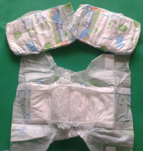 2017 New Printed Disposable OEM Baby Diaper Supplier Sleepy Diaper