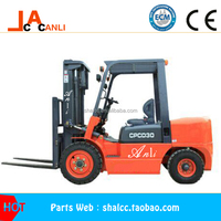 1.0Ton Automatic Diesel Forklift Trucks With XINCHANG 485/Isuzu C240 engine