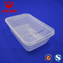 18386 Microwavable Rectangle Box 650ml Plastic Food Containers