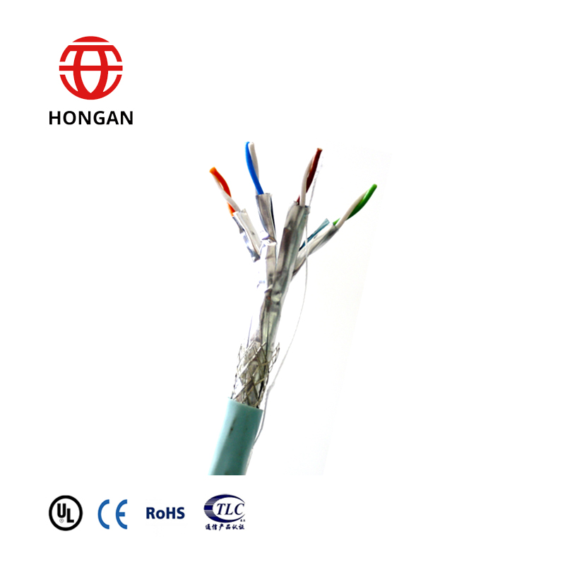 STP FTP Shielded  CAT 7 Ethernet cable  bulk in stock free sample available