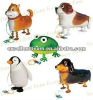 My own pet balloon,mylar foil walking pet animal balloon,balloon walker