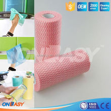 dry facial wipes nonwoven cleaning cloth in roll floor cleaning cloth