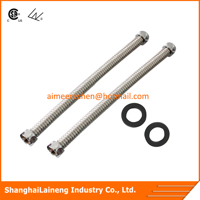 stainless steel flex/flexible pipe for water supply