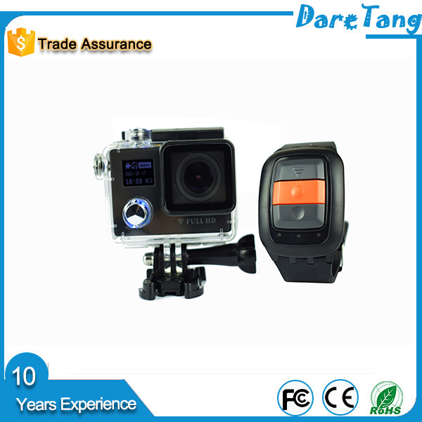 PY12 Remote contraller NTK96658 12.0Megapixel wide angle lens 2 inch LCD bracket speaker high quality action camera cable dock