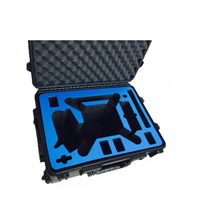 CE ISO9001 FDA SGS type M2610 waterproof shockproof plastic equipment shipping case