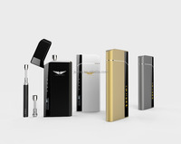China supplier joecig hot selling pcc case ecig vape pen refillable atomizer wtih rechargeable pcc case