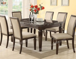 Marble Dining Table Set 6 Chairs Set