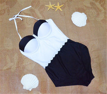 Bikini women sexy white/black sexy nude women junior swimsuits
