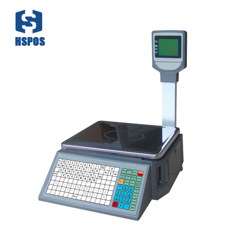 hot sale high quality Label weighing Scales with thermal printer and <strong>1000</strong> PLUS Big storage support Various special selling modes