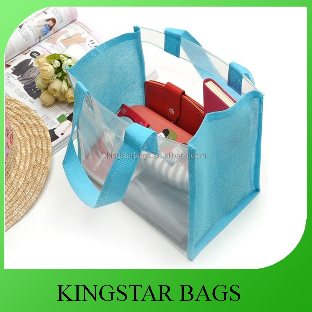 Promotional Clear Plastic Tote Bag