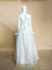 RR1594 Sequin Ball Gown Lace Up Sleeveless Design Wedding Dress