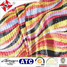 Dazzling 100% Polyester Fashion Multi Color Sequin Fabric