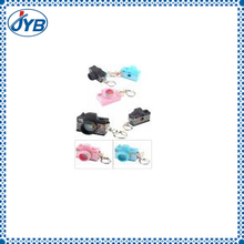 hard plastic toy camera promotion keychain