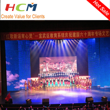 stage rental screen LED indoor display wall for concert/event/show/party background