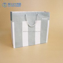 Wholesale Luxury Promotional Shopping Custom Your Own Logo Kraft Paper Bag With Rope Handle