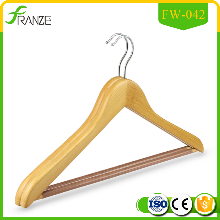 Antique Cheap Price Wooden Hanger for Suit