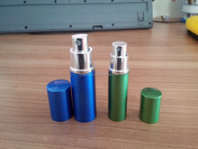 pocket sized travel atomizer spray bottle which can be used for both perfumes and aftershaves