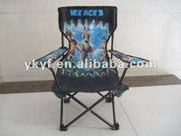 Customized logo printing kids Camp Chair install prevention clamping lock