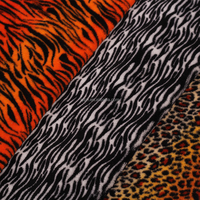 100% Polyester Print Coral Fleece Fabric,Microfibre Coral Fleece knit fabric for pajamas