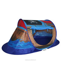 Pirate Ship Tent Kids Camouflage Play Tent