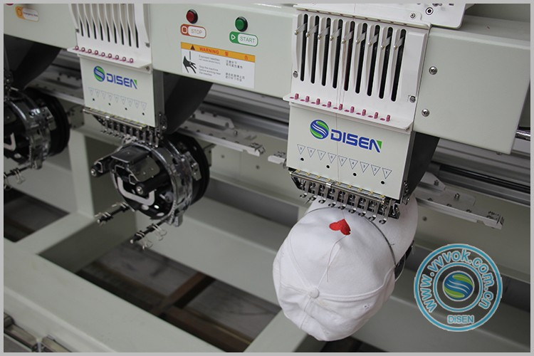 Six heads disen computerized embroidery sewing machine