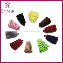 Wholesale Eco-friendly custom faux leather tassels for decoration