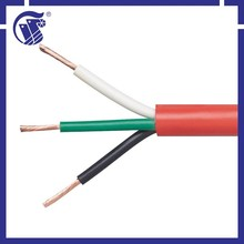 3 core 2*1.0mm2 H05VV-F weight copper cable