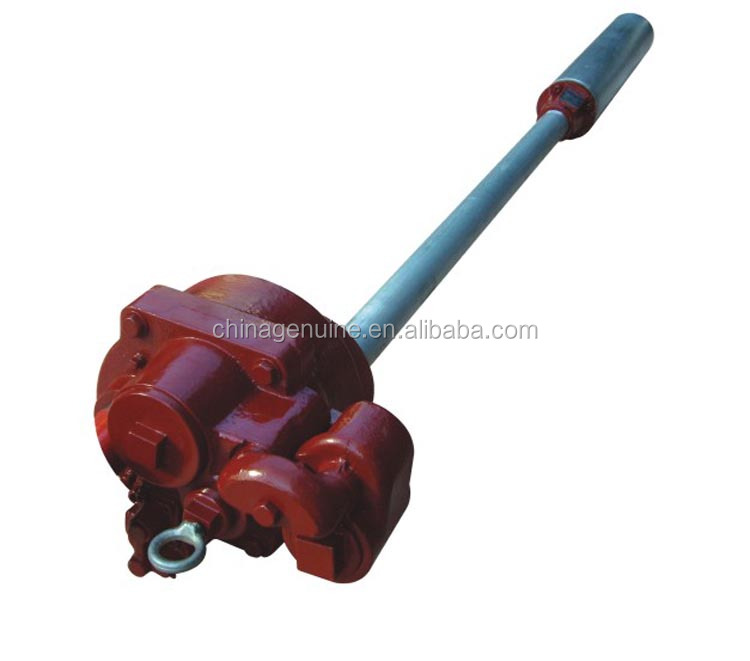 submersible oil pump / red robe / submersible pump