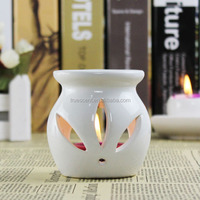 White Cutout Ceramic Melts Burner Christmas Candle Wax Warmer TS-OB198