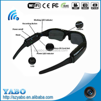 2016 high quality cheap price hd hidden camera 1280*720 wifi camera glasses