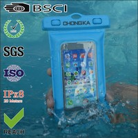 2016 Fancy waterproof floating mobile phone pouch/waterproof floating cases/waterproof mobile phone pouch