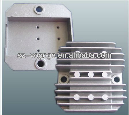 ADC12 aluminum die cast mould