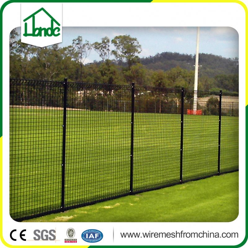 school use vinyl coated chain link fence weave mesh