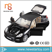 High quantity fashion modelling 1:18 metal car toys for wholesale