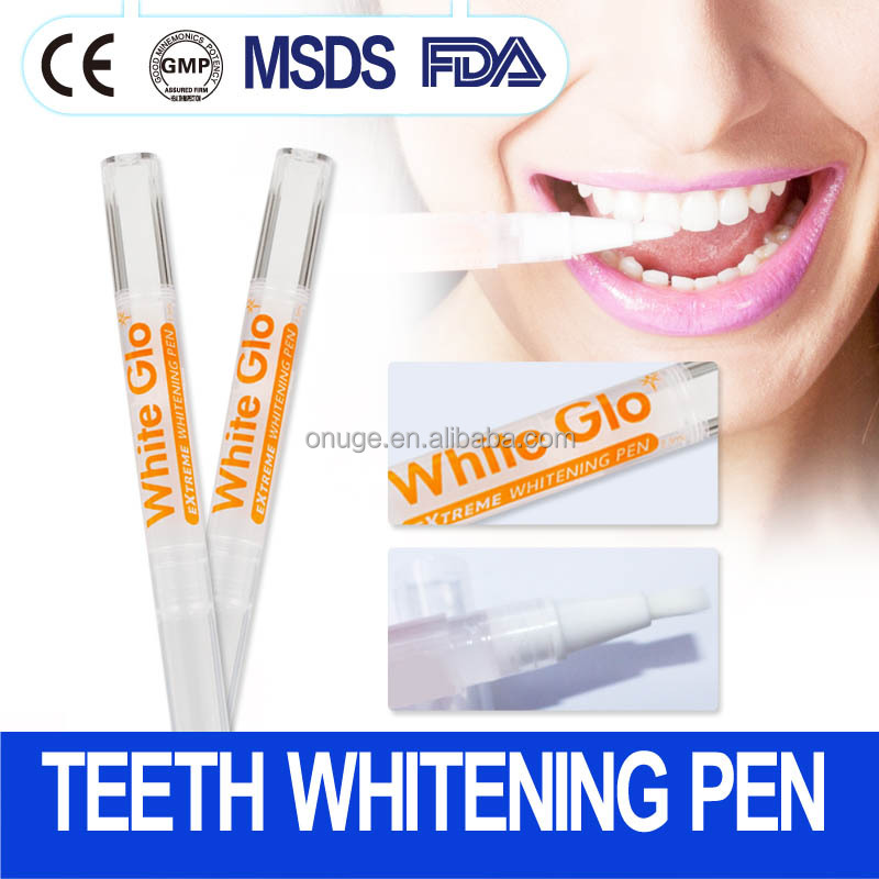 Bright white Teeth Whitening Pen, Teeth Whitening Gel, 2ml, dental treatment oral care tooth bleaching strips