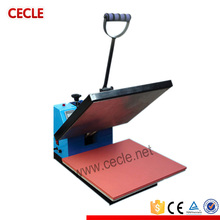 CE approved hand operated lowest price t-shirt heat press machine