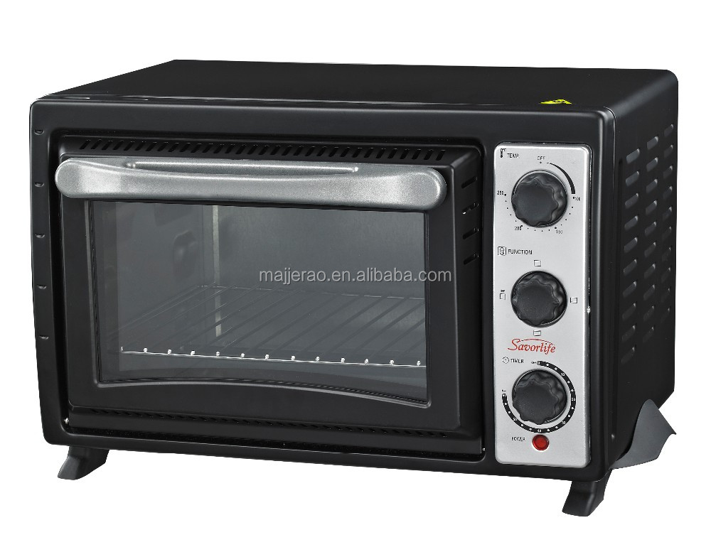 20L Home kitchen toaster oven electric baking toaster oven with double glass