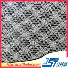 2015 Latest Cotton Nylon Lace And Fabric For Garment