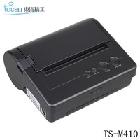 112mm portable android bluetooth thermal receipt printer,mobile printer TS-M410 with USB&RS232 port