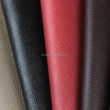 PVC material litchi grain leather for sofa and bag