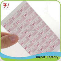 Custom One Time Use Quality Assurance Labels,Security Quality Control Labels,Strong Adhesive qa Passed Labels