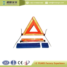Traffic Car emergency safety with led warning triangle