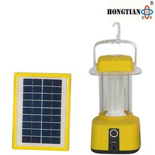 portable solar powered camping lantern camping lamp with mobile phone charger