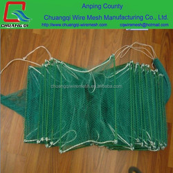 Aquaculture Traps / Best selling items pe knotless fishing net products made in asia