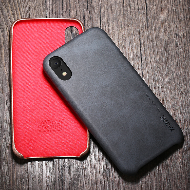 For iPhone XS Case Pu Leather <strong>Mobile</strong> Phone Case, Luxury Cover For iPhone XS Max Back Case Leather