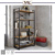 Iron Wood Stacking Rack& Shelves