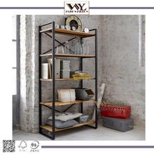 Iron Wood Stacking Rack&amp; <strong>Shelves</strong>