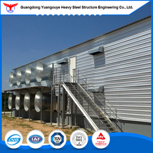 Guangdong Manufacturer Structural Steel Warehouse Building Kit for Broiler Poultry Farm House